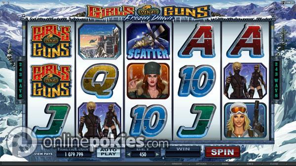 Girls with Guns II - Frozen Dawn Slot - MicroGaming Casinos - Rizk.de