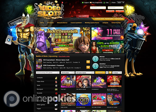 online casino games reviews video slots online